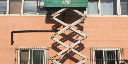 Piattaforma elevabile a forbice
